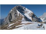 Kamniško sedlo...tukaj pa je še nekaj snega...