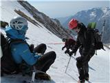 Turska gorapreizkušaje sidrišča v snegu