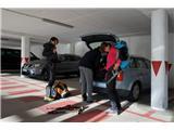 Cima SAT - po neskončnih lojtricah nad GardoParkiranje je za 13 € možno  samo v parkirni hiši. Izhodišče za vzpon je tik poleg