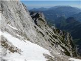 Krnička gora iz Matkove KrniceOd grive proti Krnički gori.