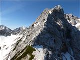 Krnička gora iz Matkove KrniceMrzla gora je že visoko.