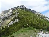 Storžič pohodniki na goro