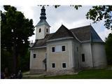 Znamenja (križi in kapelice) na planinskih potehCerkev Matere Božje. Ta cerkev naj bi nekako bila središče Brinjeve gore,čepraj je vrh kmalu za cerkvijo Sv. Neže.