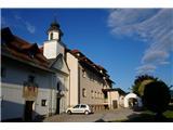 Jakobova pot  - Višarska smerSamostan v Sv. Duhu, kjer sva prespala. Namestitev je na zelo visokem nivoju :)