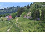 Slovenske planine v vseh letnih časihŽal smo šli samo mimo planine.