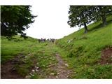 Slovenske planine v vseh letnih časihPred planino.