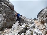 Grintovec in Kočnasledi nekaj lažjega plezanja