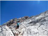 Grintovec in Kočnaseverni pristop na Grintovec