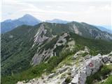 Storžič Bašeljski vrh, Mali Grintovec