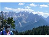 Trupejevo poldne - Vošcagorska panorama z Vošce