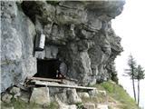 Javorca(Golte)Janezov bivak pod Javorco