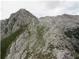 Vernaros predvrha do vrha malce pazljivoti...luštkan  greben