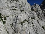 Mrzla gorapogled proti Detelci, pomoje je najlažje iti preko stopničk
