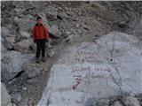 Jalovecob poti proti vrhu