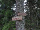 Trupejevo poldne - Vošcana grebenski poti