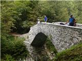 Breginjski kot & Nadižaob cesti, zanimiv Napoleonov most čez Nadižo