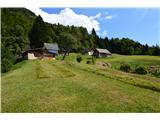 Slovenske planine v vseh letnih časihPrispeli smo na planino Četeže. Nekje je zapisano samo senožet Četeže.