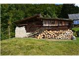 Slovenske planine v vseh letnih časihŠtirje stanovi so lepo vzdrževani.