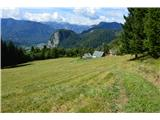 Slovenske planine v vseh letnih časihZapuščam planino.