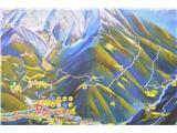 Slovenske planine v vseh letnih časihNa panoju na Zg. Jezerskem se točno vidi kam sem se peljal.