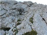 Kalška goraMesto, kjer je ostala vrv je bilo v soboto popolnoma drugačno.