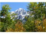 Belopeška jezera - Rifugio Zacchi je to Visoka Ponca? - pogled nazaj s poti Alpe Vecchia
