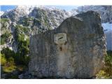 Belopeška jezera - Rifugio Zacchi v spomin na italijanskega alpinista Ernesta Lomastija