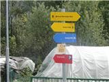Trupejevo poldne - VošcaTod se gre k ferati Hladnik