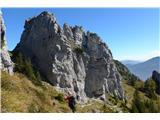 Olševapot do Govce je bolj kamnita in mestoma razdrapana