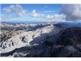 KrnBohinjski greben in Vrh nad Peski