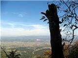 Kamnik ( 861m )Pogled v mojo dolino.
