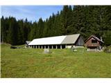 Slovenske planine v vseh letnih časihPlanina ima tudi odprt hlev, ki je last pašne skupnosti.