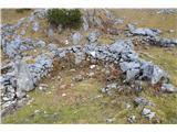 Slovenske planine v vseh letnih časihKar sedem ruševin sem naštel.