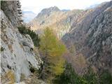 Krnička gora iz Matkove KrniceS soncem obsijan Veliki vrh pri povratku.