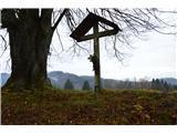 Znamenja (križi in kapelice) na planinskih potehNekje na poti.