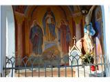 Znamenja (križi in kapelice) na planinskih potehLepe poslikave.