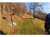 Znamenja (križi in kapelice) na planinskih potehNa poti na Jamnik.