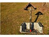 Znamenja (križi in kapelice) na planinskih potehIsti križ.