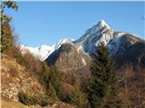 Čudovita naravana sneg je pa treba malo višje...