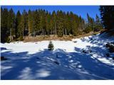 Slovenske planine v vseh letnih časihSnežena planina.