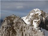 Nesplošna ugankaNa vrhu Škarij.