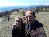 Lisca-zelo zahtevna planinska potNa vrhu Lisce