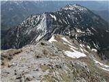 Storžič Vzhodni greben tudi skoraj kopen