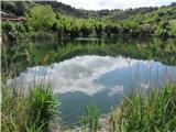 Slovenska obalajezero v Fiesi, nekoč prostor za izkop gline