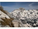Veliki Draški vrh 2243mTriglav z Velikega Draškega vrha