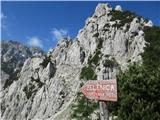 Vrh Ljubeljščice (Triangel)Poleg tega tudi lepa pot.