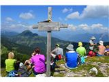 Znamenja (križi in kapelice) na planinskih potehKriž na Konjščici.