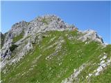Zelenjak-Palecpot na Vrtačo