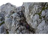 MangartVisoko v skalah.
