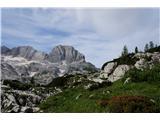 Žrd (2324m)Višje po poti 645 so razgledi vse lepši